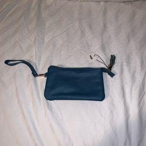 Women's Teal Clutch wallet